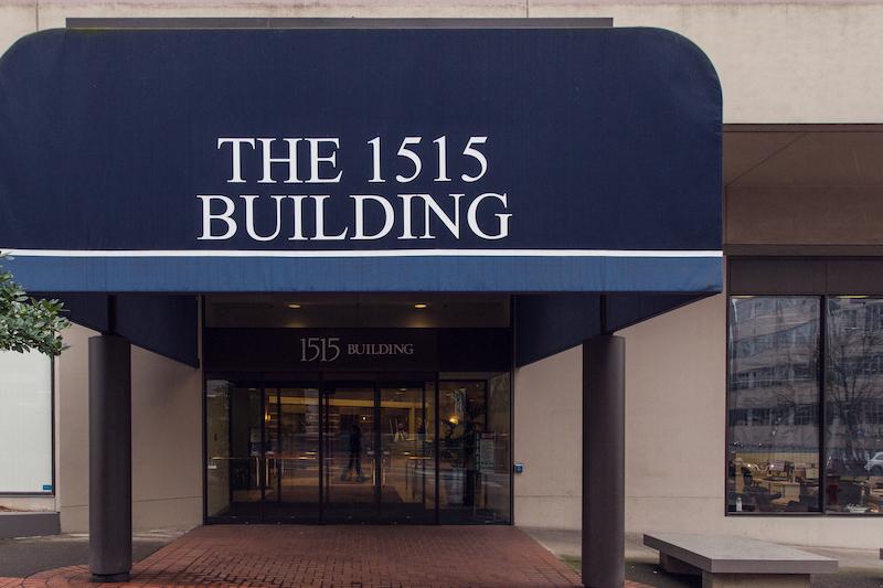 the 1515 building entrance